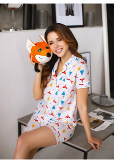 Пижама П-М-98 лисички