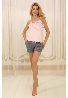 Пижама П-М-73 (горошек)